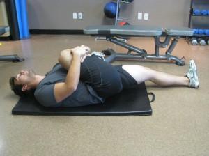 Week 11 - Lying Gluteal Stretch