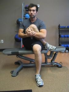Week 11 - Seated Gluteal Stretch